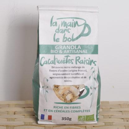 granola-cacahuetes-raisins